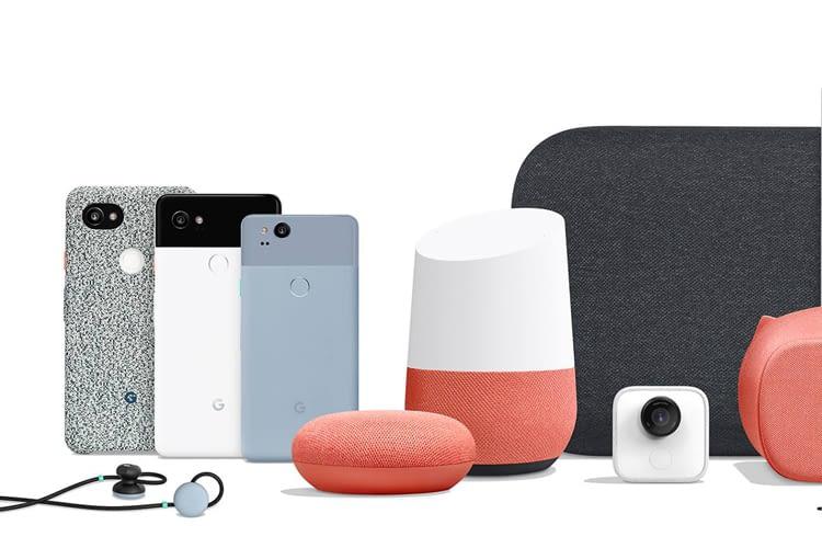 Die gesamte Google-Familie samt Lautsprechern und Pixel Phones arbeitet mit Google Assistant