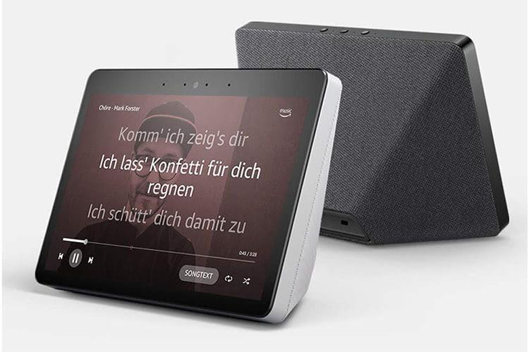 Amazon Echo Show 2 vermittelt Informationen auch visuell