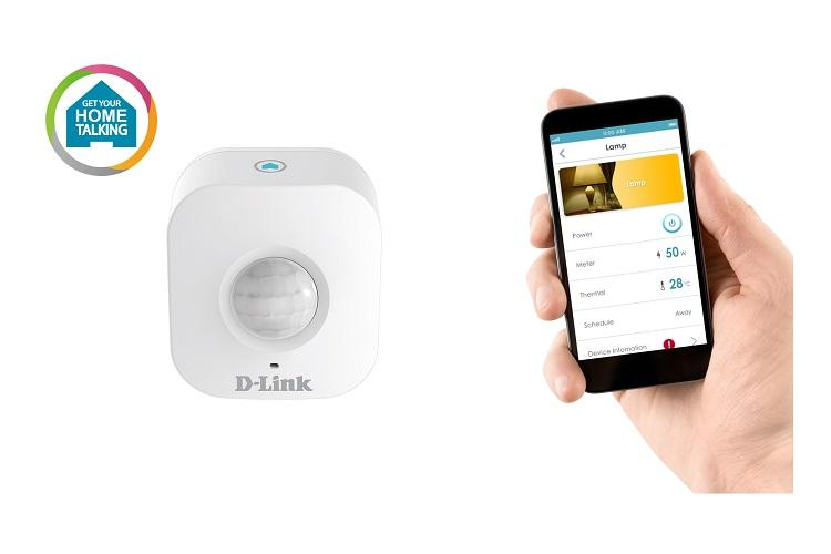 Motion Sensor von dlink und dazugehörige App