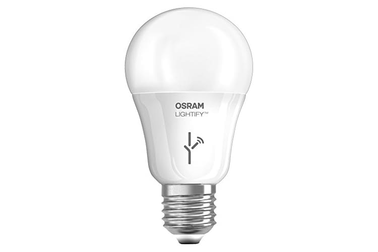 Die Osram Lightify CLASSIC A LED-Glühlampe Tunable White ist stufenlos dimmbar