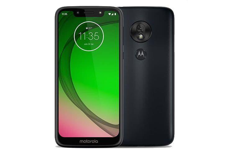 Das Motorola moto g7 play hat einen Kunststoff-Body