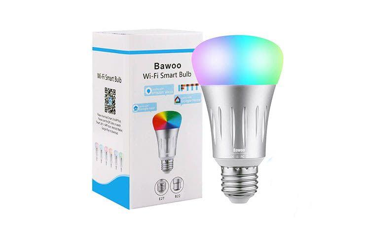 Die Bawoo Wi-Fi Smart LED Bulb kann 16 Millionen Farben darstellen