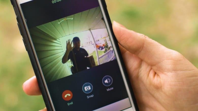 VEIU App nutzt das Smartphone-Mikrophon für Zwei-Wege-Audio