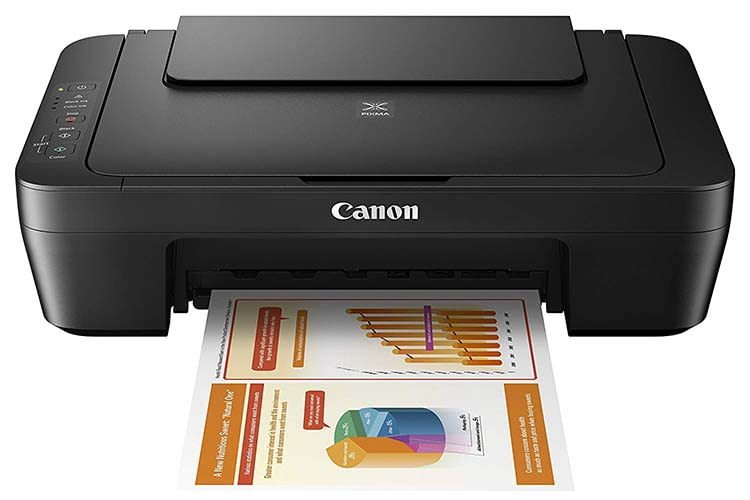 Der Multifunktionsdrucker Canon PIXMA MG2555S glänzt mit einfacher Bedienung
