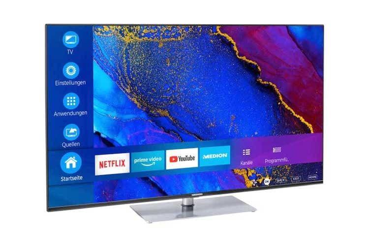 Der Medion LIFE X14630 TV überzeugt mit sehr guten Ausstattungsmerkmalen