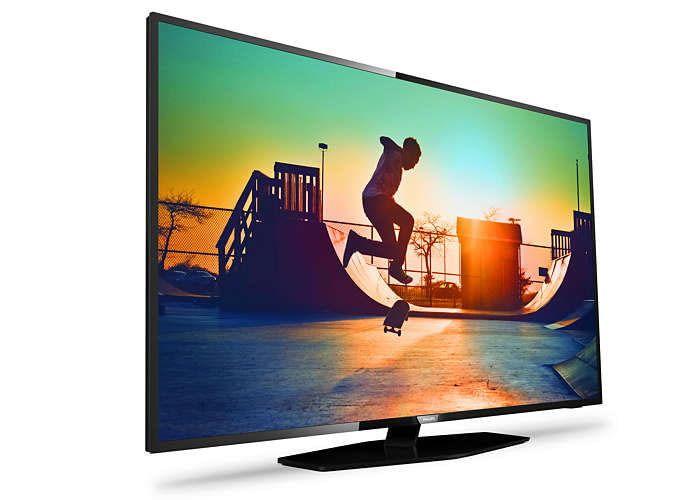 Philips 43PUS6162/12 Smart TV für den Einstieg in die Ultra-HD-Klasse