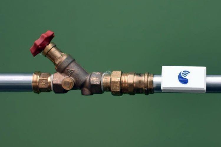 Misst den Wasserdurchfluss im Rohr: Waterminator von SMART WINS