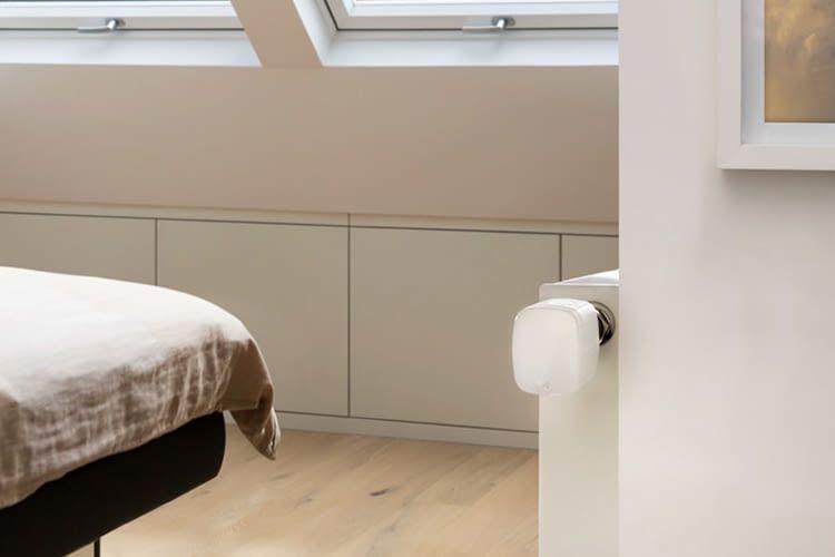 Egal ob im Wohnbereich oder Schlafzimmer: Eve Extend kann in jedem Raum stylisch integriert werden