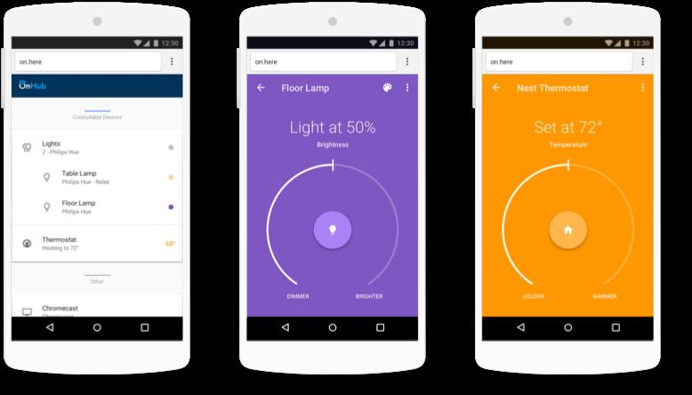 Google OnHub App