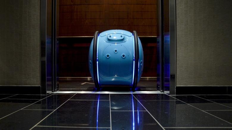 Cargobot Gita von PFF meistert Aufzüge