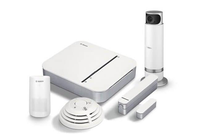 Bosch Sicherheits Starter-Paket + 360 Grad Innenkamera