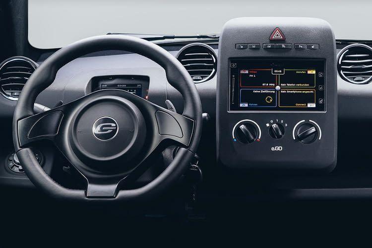 Das Intenieur des Elektroautos e.GO Life ist funktional und übersichtlich gestaltet.
