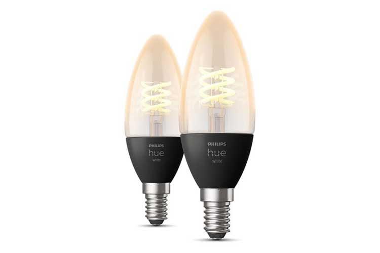 Lang erwartet: Die Philips Hue White Filament Kerzenlampen für die kleinen E14 Lampenfassungen