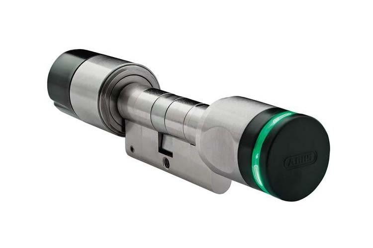 Das elektronische Türschloss ABUS wAppLoxx erhöht den Einbruchschutz und Komfort