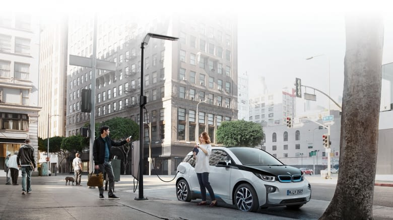Die smarte Technologie von S O NAH steckt auch in den Straßenlaternen von eluminocity