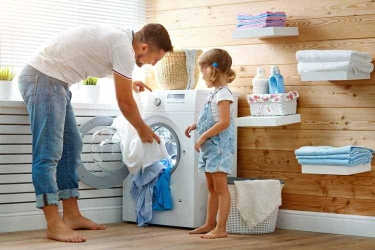 Weniger ist mehr: Zumindest in bezug auf die wöchentlichen Waschgänge und Temperaturen