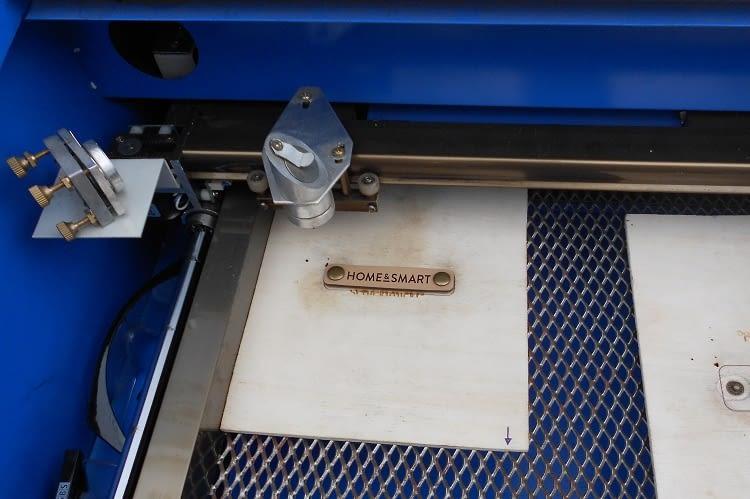 Ein home&smart-Patch wird eigens angefertigt