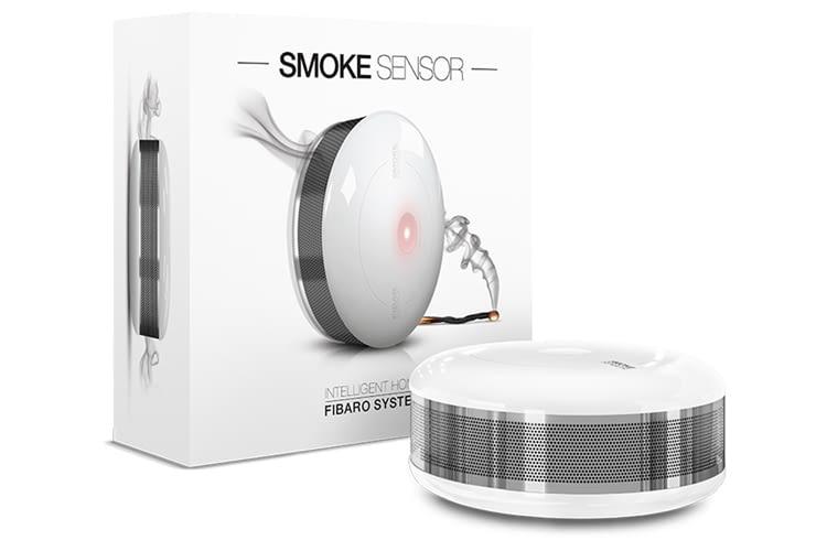 Der FIBARO Rauchmelder arbeitet fotoelektrisch