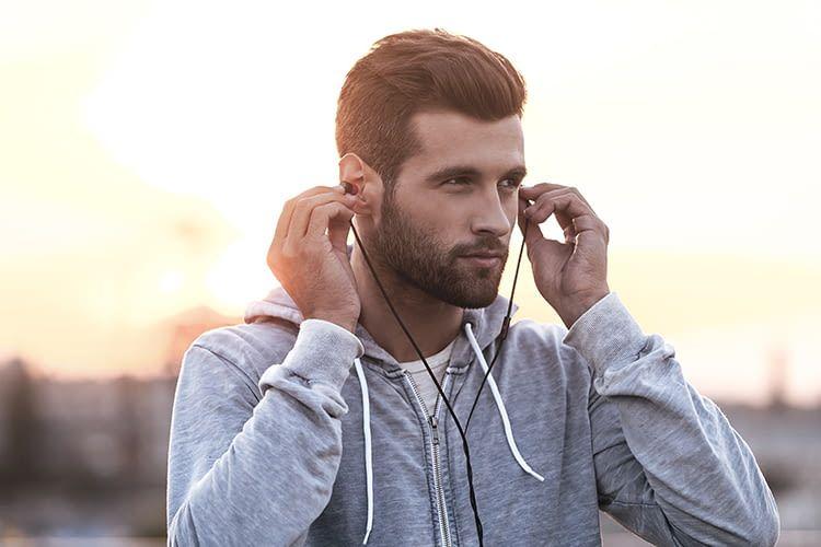 Auch beim Sport ist energiegeladene Musik nur einen Knopfdruck entfernt