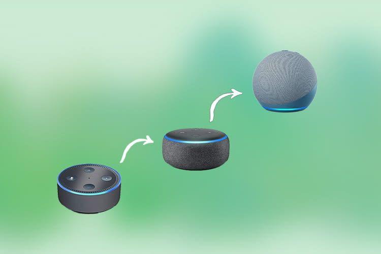 Alexa Geräte (Echo Dot 2., 3. und 4. Gen.) werden immer mehr zum Deko Objekt