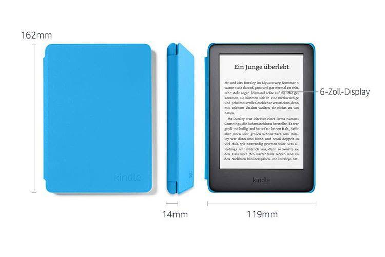 """Die Amazon Kindle Kids Edition bietet Eltern eine """"Kontrollfunktion"""", mit der sie u. a. den Lesefortschritt ihres Kindes verfolgen können"""