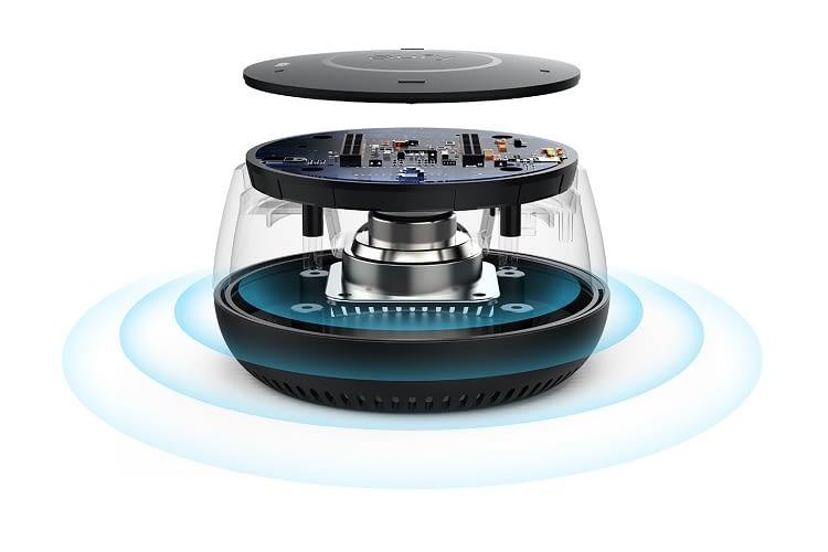 Laut Hersteller hat Genie 200% mehr Klangvolumen als der Echo Dot