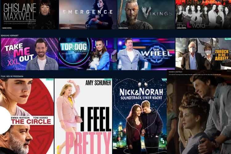 Die TVNOW Premiumabos bieten verschiedene Genres zur Auswahl an
