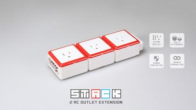 STACK 3 Multifunktionssteckdose von oneadaptr