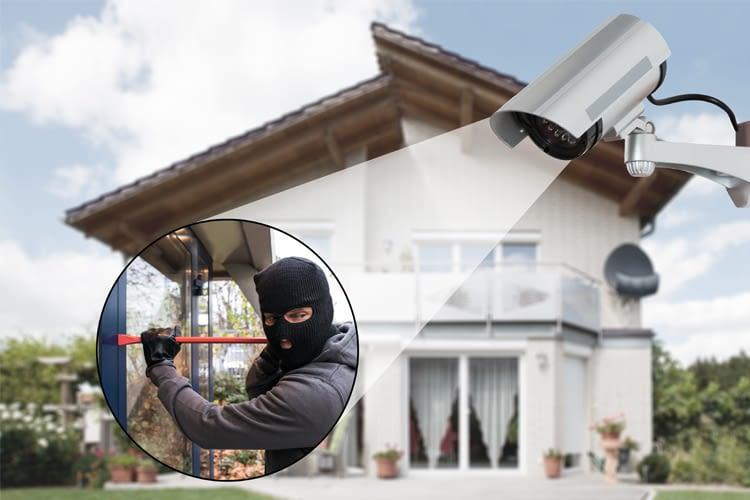 Überwachungskameras sichern das Zuhause rundum ab