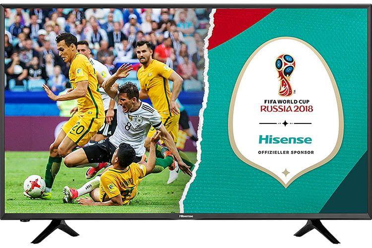 Wenig Budget, aber Lust auf UHD TV? Dann ist der Hisense H55NEC5205 die richtige Wahl