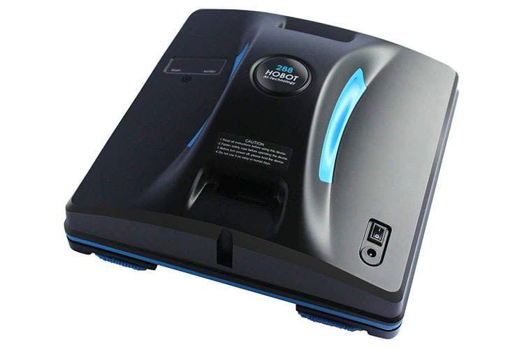 Der Fensterputzroboter Hobot 288 ist technisch dem Modell Hobot 268 ähnlich, verfügt aber zusätzlich über Bluetooth und App-Steuerung