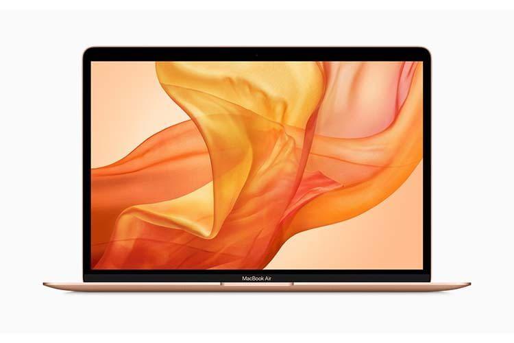 Das Gehäuse von Apples MacBook Air ist aus 100 Prozent recyceltem Aluminium