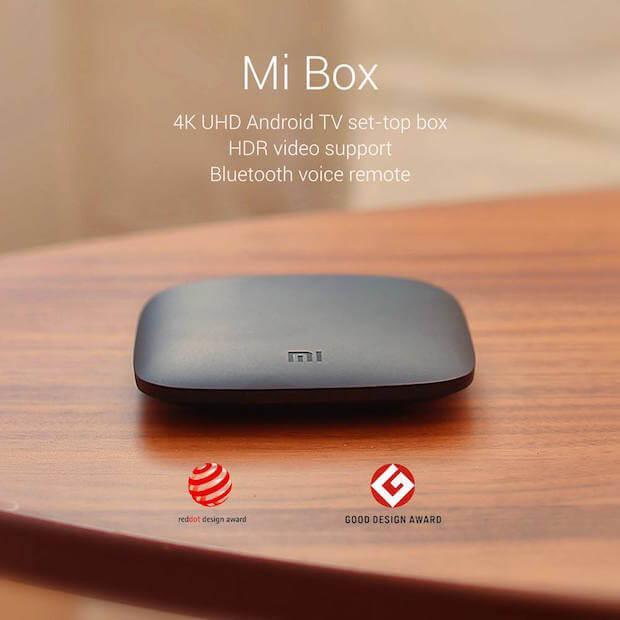 Abbildung der Xiaomi Mi Box