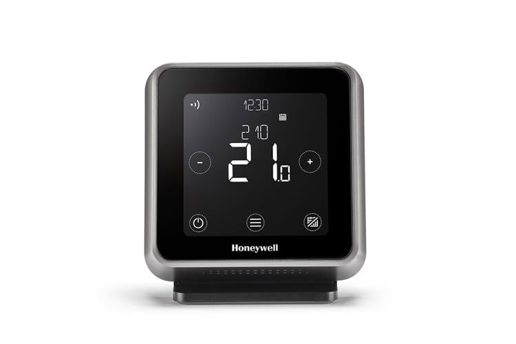 Dieses Honywell Thermostat kann kabellos überall angebracht werden