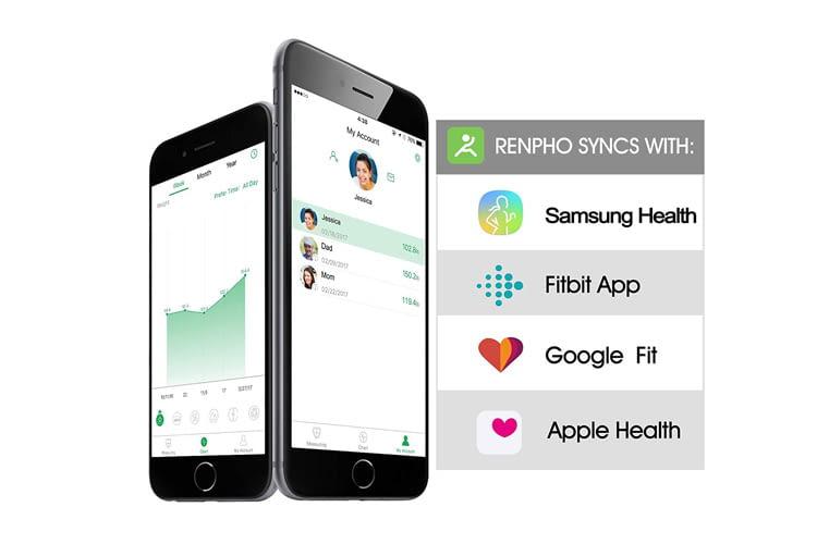 In der App werden alle gemessenen Gesundheitsdaten übersichtlich zusammengefasst