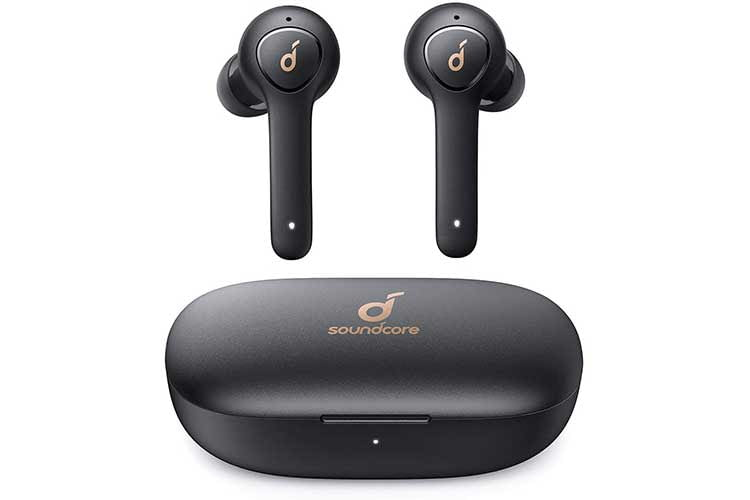 Die In-Ear Bluetooth Kopfhörer Anker Soundcore Life P2 erinnern vom Design an Apple AirPods