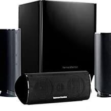 5.1-Kanal-Lautsprecherset mit 5 Lautsprechern und einem 200 Watt Subwoofer. Für besten Heimkino-Klang.