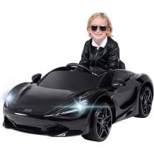 90 Watt Elektroauto für Kinder. Inkl. Original McLaren-Lizenz, Brems-Not-Stop-Automatik, Sicheheitsgurt und Rückwärtsgang.
