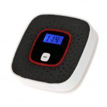 Besonders günstiger Kohlenmonoxidmelder mit digitaler Anzeige und elektromechanischem Sensor