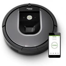 Saugroboter mit starker Saugkraft, 3-stufigem Premium-Reinigungssystem, Dirt Detect Sensoren und vSLAM-Navigationstechnologie.