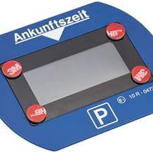 Mit Bewegungssensor - so stellt sich die Parkuhr bei jedem Stillstand von selbst ein. Inkl. Nacht-Park-Funktion und Zubehör.