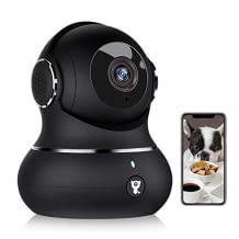 Mit Full HD Auflösung und flexibler Schwenkfunktion. Inkl. Nachtsicht, Bewegungserkennung und 2-Wege-Audio.