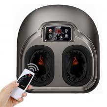 Elektrische Fußmassage mit Luftkompression, Heizen und 5 Massage-Modi. Zur Förderung der Blutzirkulation und zum Stressabbau.