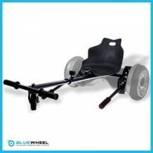 Macht dein Hoverboard zum Hoverkart. Bequemer Schalensitz, zuverlässige Bremsen, große Griff-Steuerung und hervorragende Fahreigenschaften