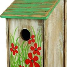 Mit unbehandeltem Holz ähnelt es dem natürlichen Lebensraum der Vögel und ist somit perfekt geeignet für Wild- wie auch Käfigvögel.