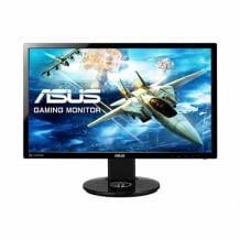 24 Zoll Gaming Monitor mit Full HD Auflösung, integrierten Stereolautsprechern und einer Bildwiederholungsrate von 144 Hz.
