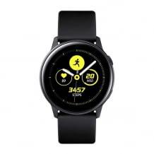 Sportliche Smartwatch in elegantem, rahmenlosem Design mit wechselbaren Armband. Umfangreiche Fitness-Modi.