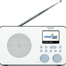 Tragbares Internetradio mit Empfang über DAB+, UKW und WLAN. Mit Farbdisplay, Kopfhöreranschluss, Wecker und Timer.