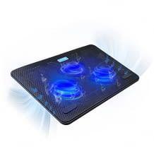 Mit drei überdimensionierten, aber ruhigen Lüftern. Mit ergonomischem Komfort, USB Anschluss und LEDs.