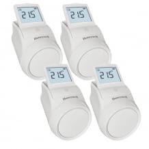 Smarte Heizkörperthermostate mit zentraler Temperatureinstellung nach Zeitplan oder manuell. Inkl. Fenster-offen-Erkennung.